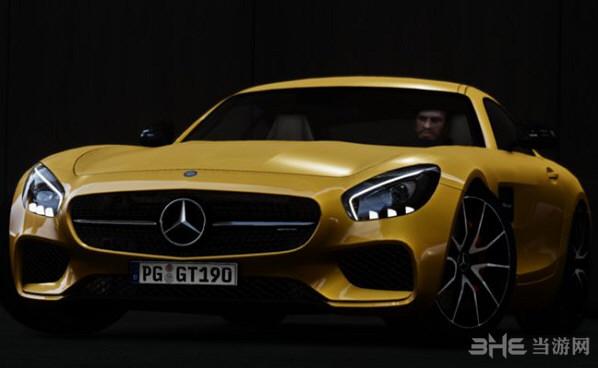 侠盗猎车手4 2016款梅赛德斯奔驰AMG GT MOD截图0