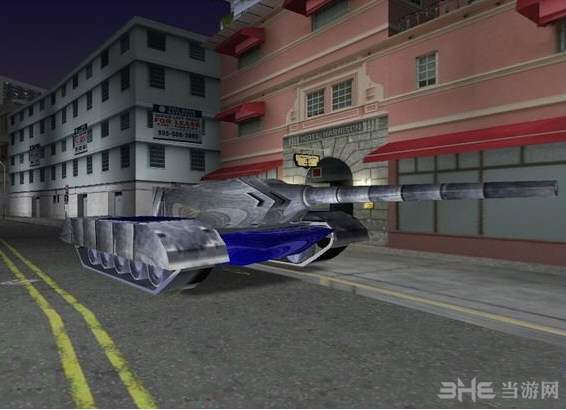 侠盗猎车手罪恶都市红色警戒盟军灰熊坦克MOD截图0