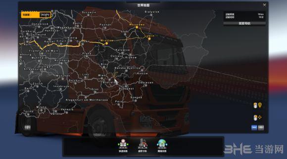 欧洲卡车模拟2超大型地图MOD截图1