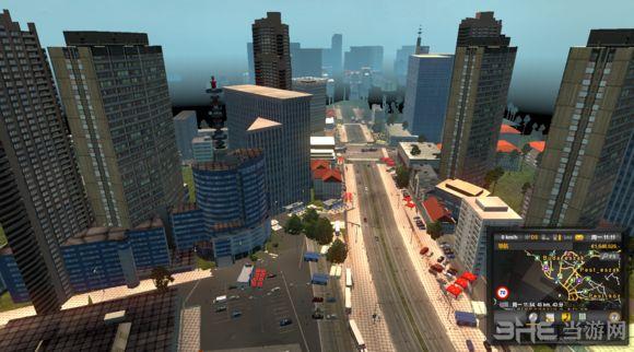 欧洲卡车模拟2超大型地图MOD截图3