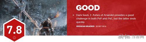 黑暗之魂3DLCIGN评分