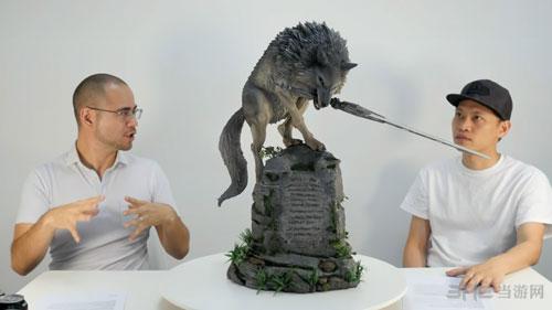 黑暗之魂巨型手办灰色巨狼希夫截图1