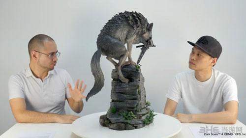 黑暗之魂巨型手办灰色巨狼希夫截图3