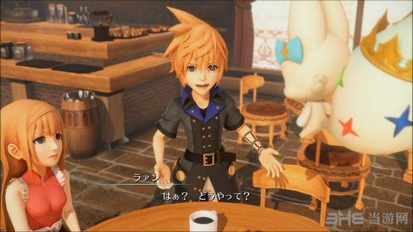 《最终幻想世界》开场15分钟演示视频放出 可爱画风萌翻全场