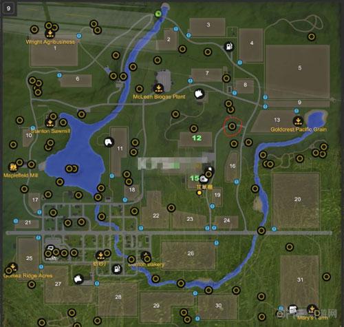 模拟农场17金块位置图片1