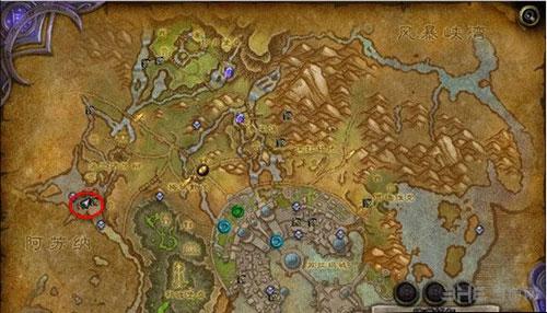 魔兽世界鱼人的恋爱任务地图1