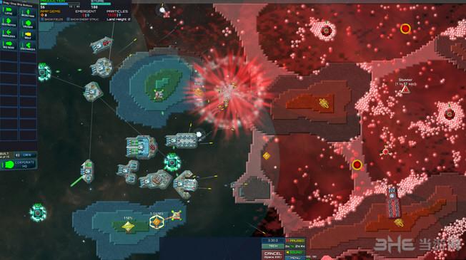 粒子舰队:崛起v1.1.4单独破解补丁截图0