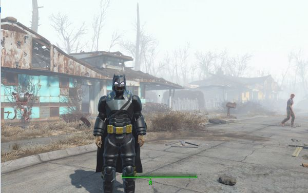 辐射4蝙蝠侠战斗制服MOD截图0