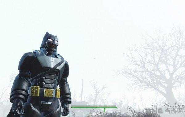 辐射4蝙蝠侠战斗制服MOD截图1