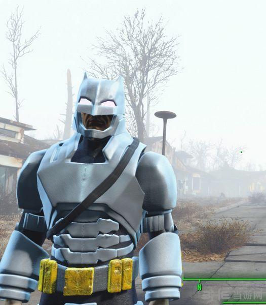 辐射4蝙蝠侠战斗制服MOD截图2