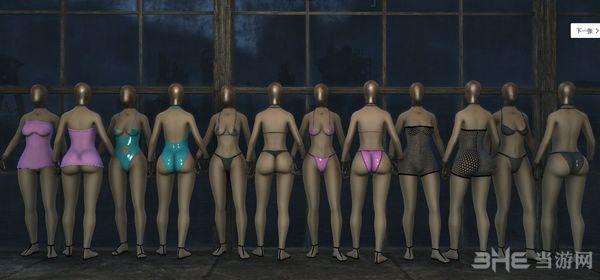辐射4 性感泳衣和内衣MOD截图1
