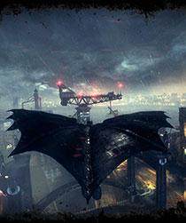 蝙蝠侠阿甘骑士壁
