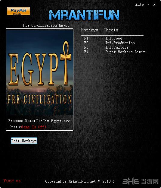 古埃及文明四项修改器截图1