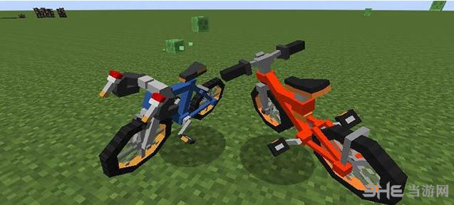 我的世界1.7.10神奇宝贝自行车MOD截图1