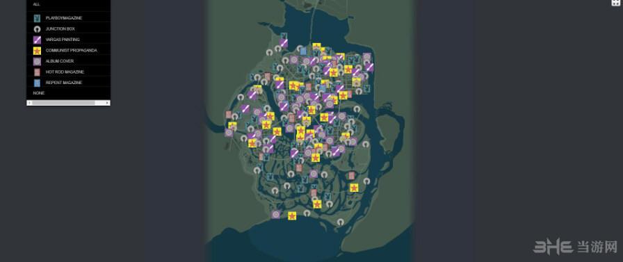 黑手党3全物品收集地图截图0