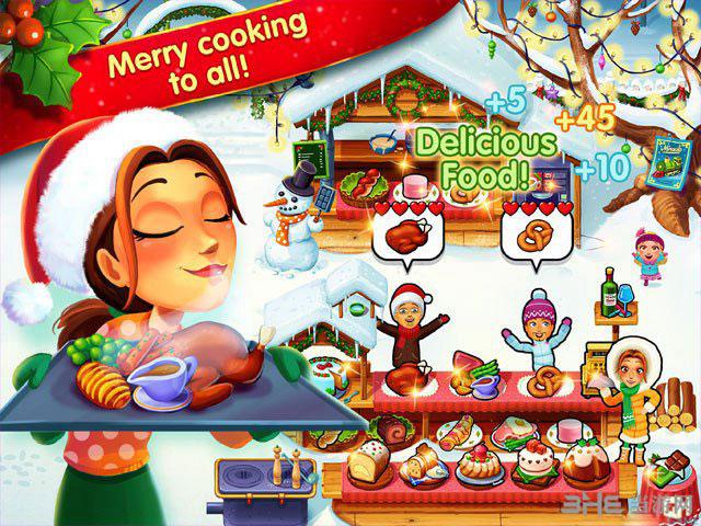 美味餐厅:艾米莉的圣诞颂歌截图0