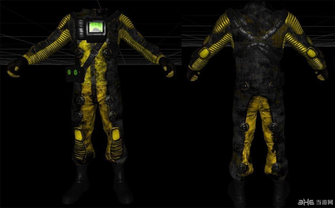 辐射4核生化防护衣版MOD截图0