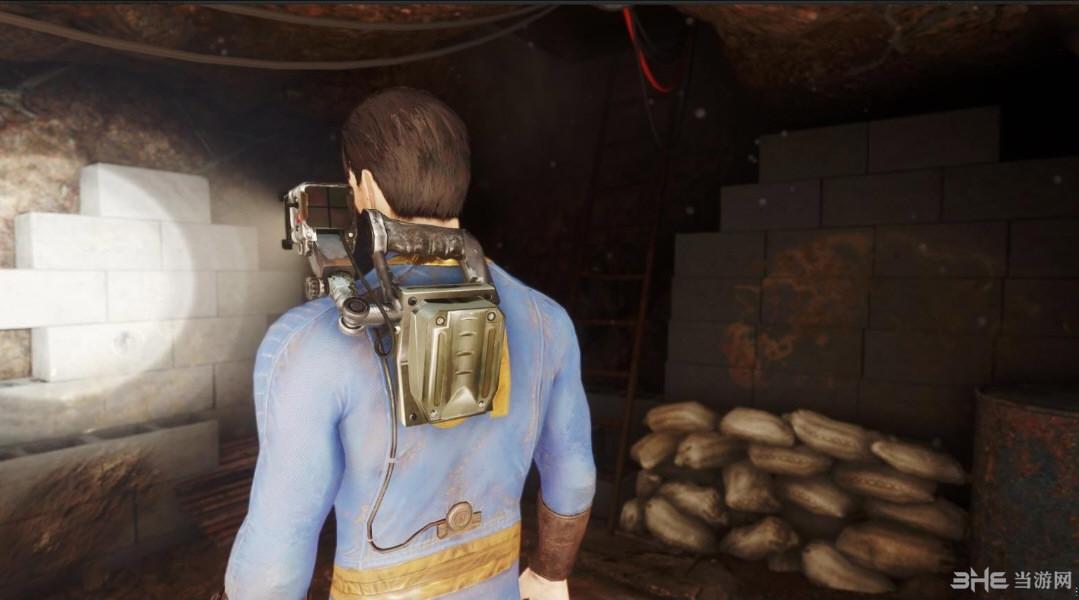 辐射4TNR肩扛战术灯MOD截图2