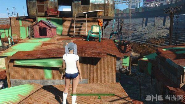 辐射4日本女子体操服MOD截图1