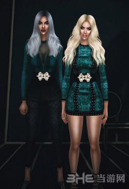 模拟人生4连身裙+连身衣裤MOD截图0