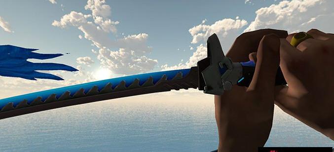 求生之路2蓝色武士刀MOD截图2