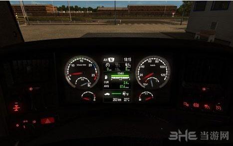 欧洲卡车模拟2斯卡尼亚仪表盘截图0