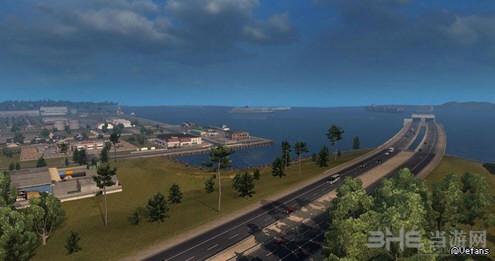 美国卡车模拟1.4海岸到海岸地图截图0