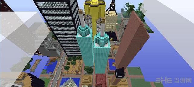 我的世界v1.7.10大都市地图截图0