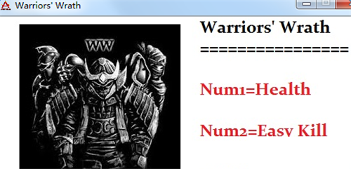 勇士之怒:邪恶挑战两项修改器截图0