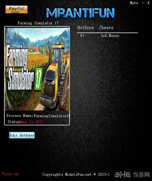 模拟农场17一项修改器截图0