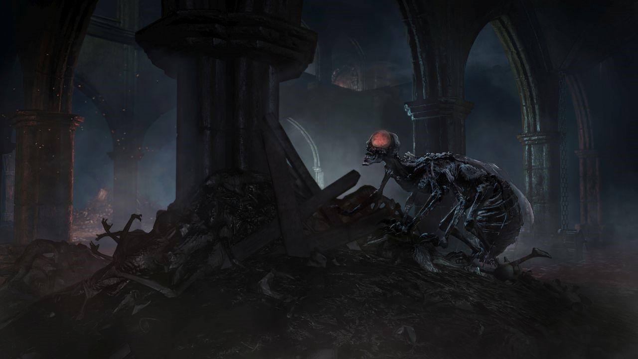 黑暗之魂3DLC截图欣赏 阿里安德尔的世界一