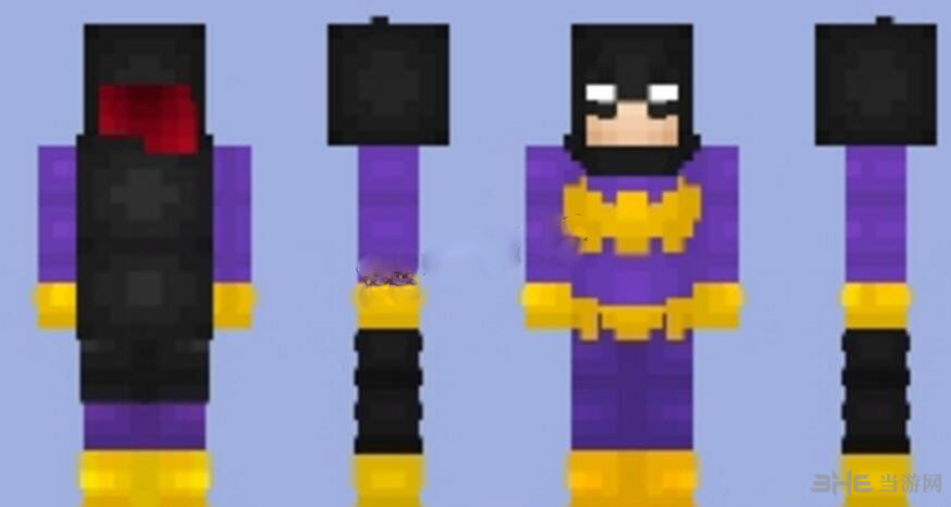 我的世界蝙蝠少女皮肤截图0