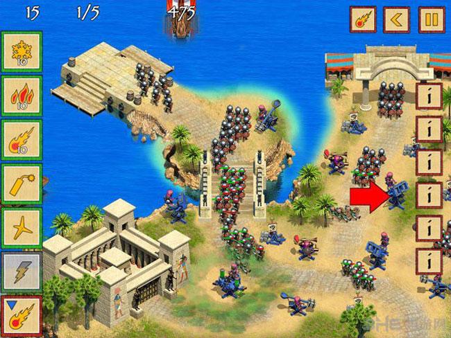 埃及防御截图0
