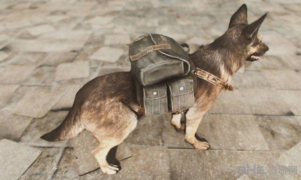 辐射4狗用背包MOD截图0