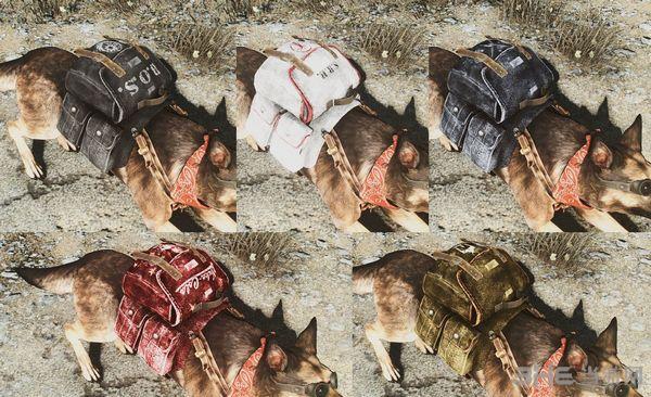 辐射4狗用背包MOD截图2