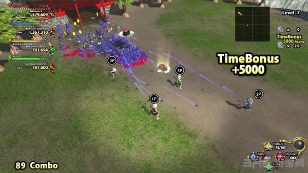 虚拟3D世界:忍者之战截图0