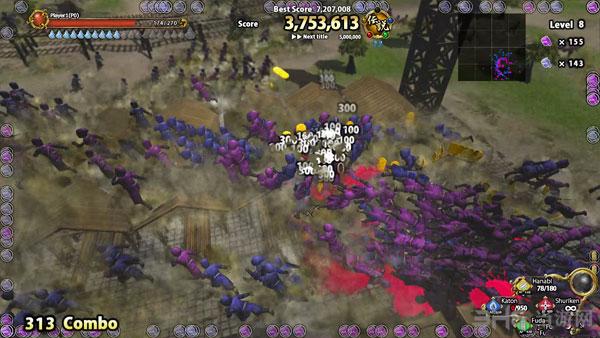 虚拟3D世界:忍者之战截图1