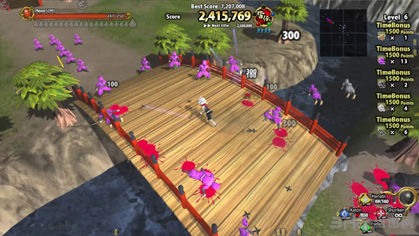 虚拟3D世界:忍者之战截图2