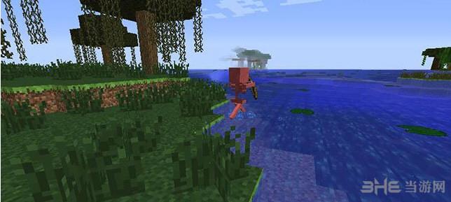 我的世界v1.7.2怕水骷髅MOD截图0
