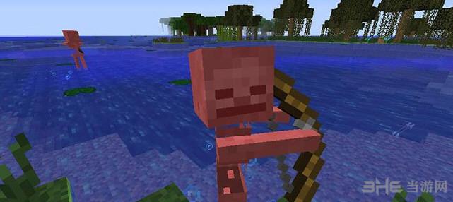 我的世界v1.7.2怕水骷髅MOD截图1