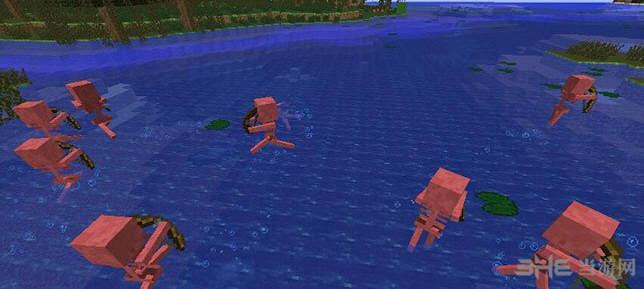 我的世界v1.7.2怕水骷髅MOD截图2