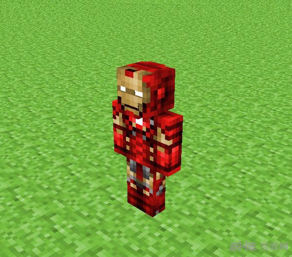 我的世界钢铁侠皮肤截图0