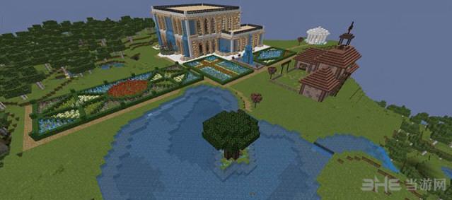 我的世界神奇的立方体别墅地图截图0