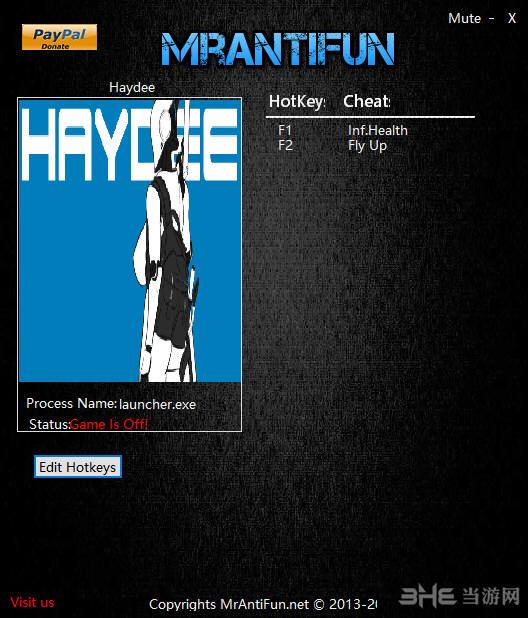 Haydee两项修改器截图0
