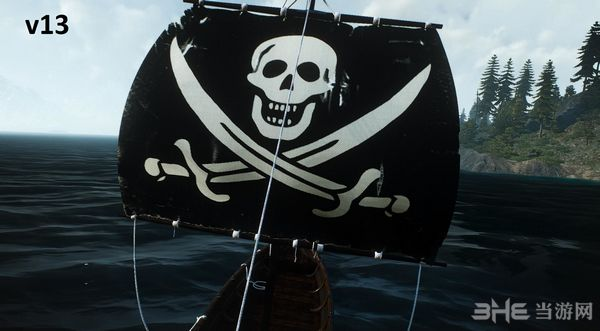 巫师3:狂猎小船变大换旗子MOD截图0