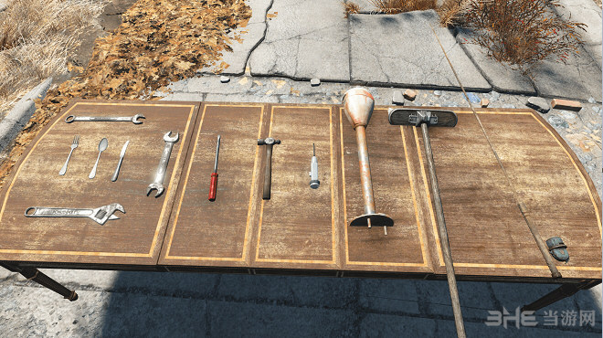 辐射4手术刀,扳手近战武器MOD截图0