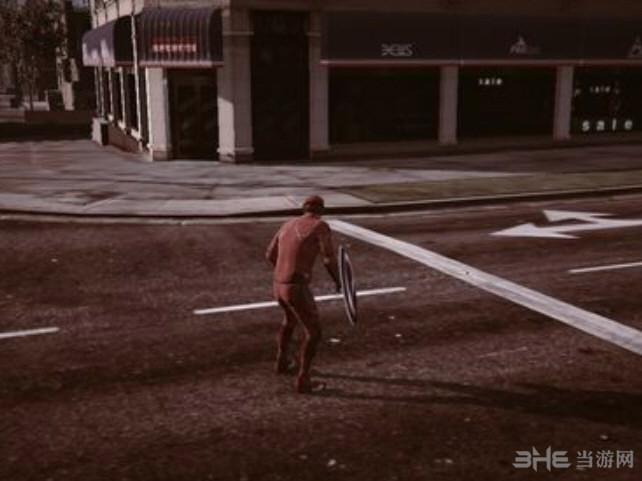 侠盗猎车5超级英雄闪电侠人物MOD截图2