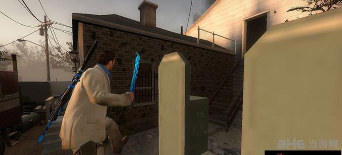 求生之路2蓝色发光小砍刀MOD截图0
