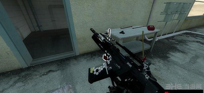 求生之路2孤岛危机3 SCAR突击步枪MOD截图1