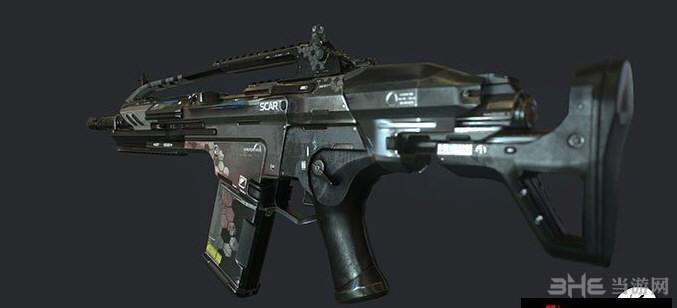 求生之路2孤岛危机3 SCAR突击步枪MOD截图3